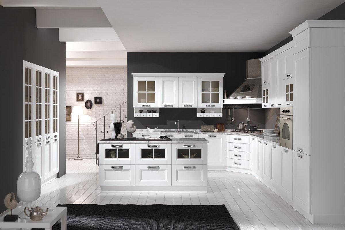 Cucina Merano, stile moderno dal gusto classico